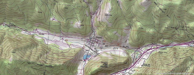 Zooming In On Topographic Maps Environmental Prose - Historical topo maps