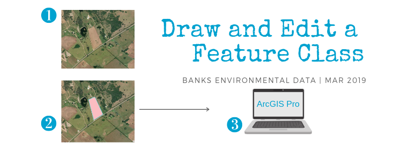 Draw and Edit Feature Class in ArcGIS Pro | Environmental Prose