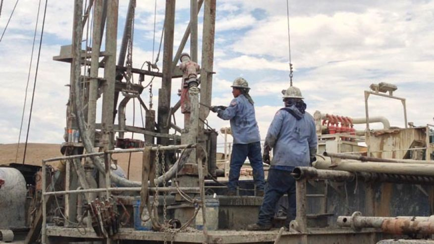 Water well drillers works to keep up with demand for new wells