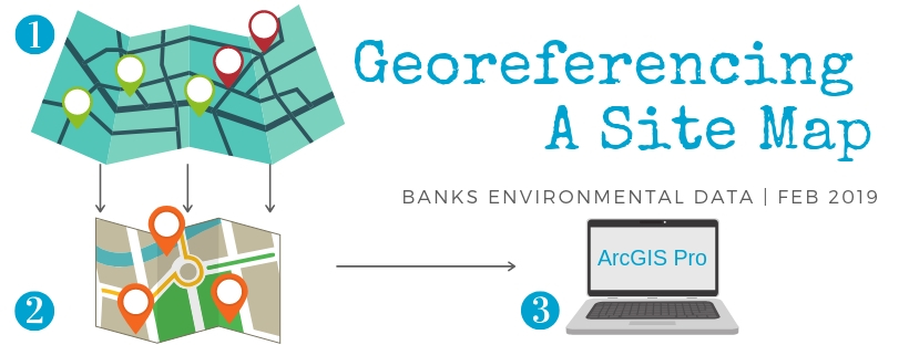 Georefrencing A Site Map in ArcGIS Pro 2.0