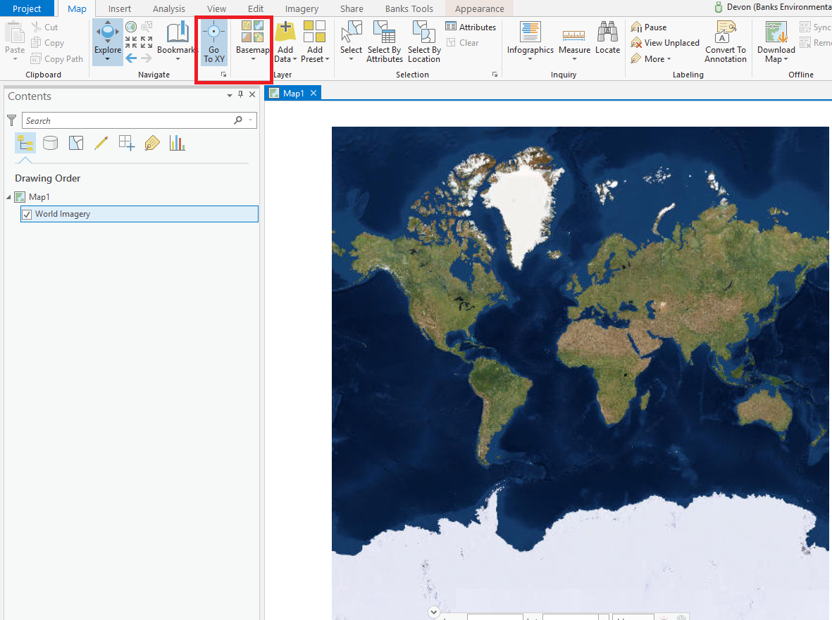 Georeferencing a site map in ArcGIS Pro | Environmental Prose