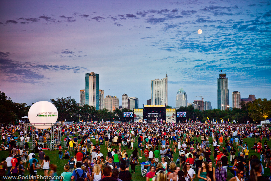 Austin, TX has an influx of visitors every fall for the ACL music festival. Some of these visitors just might become permanent residents in the next 15 years!